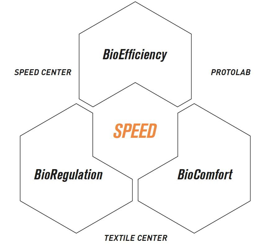 Bioracer development triangle